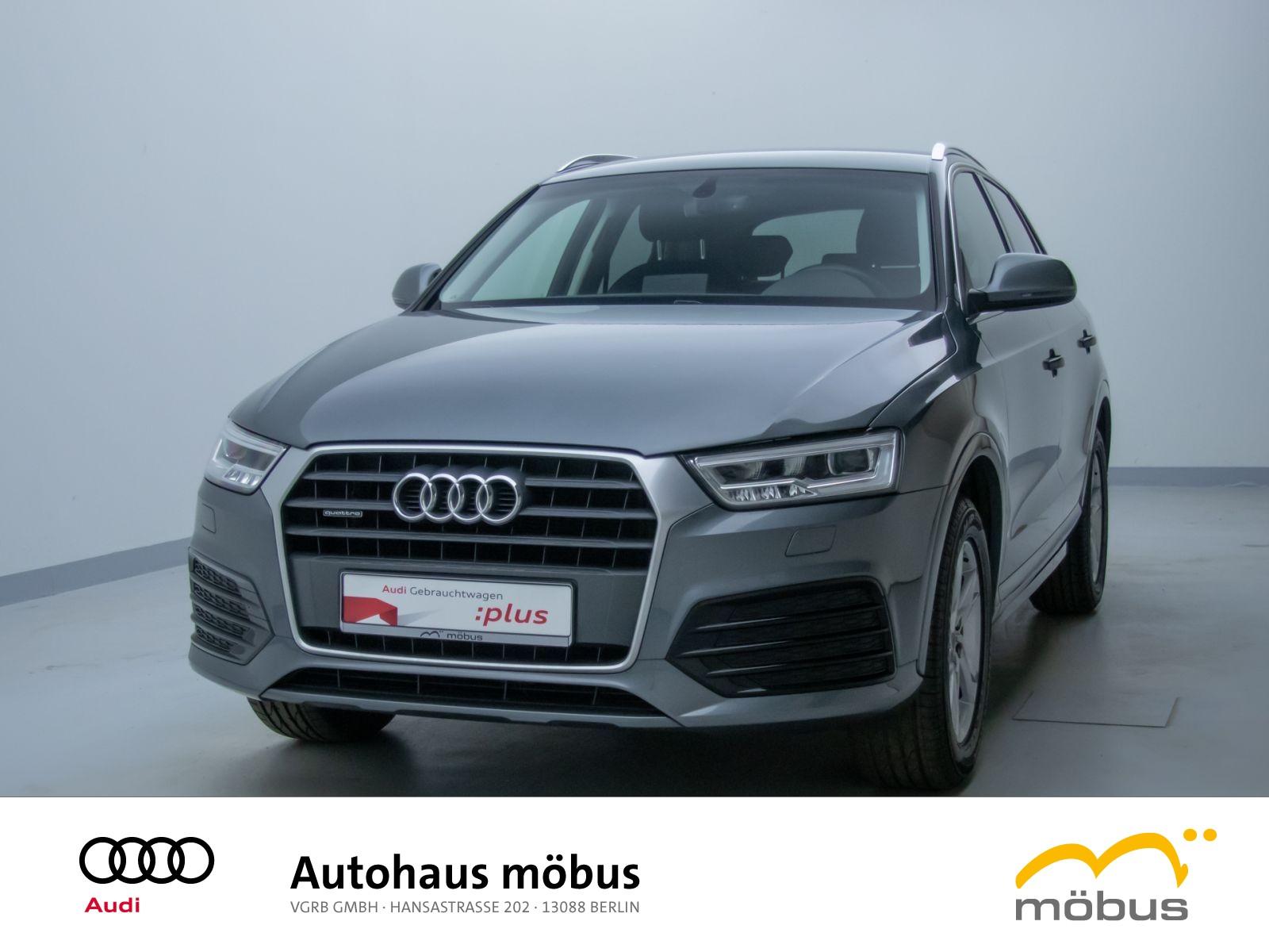 Audi Q3 sport 2.0 TDI quattro *6-GANG*AHZ*GRA*LED*BT*, Jahr 2017, Diesel