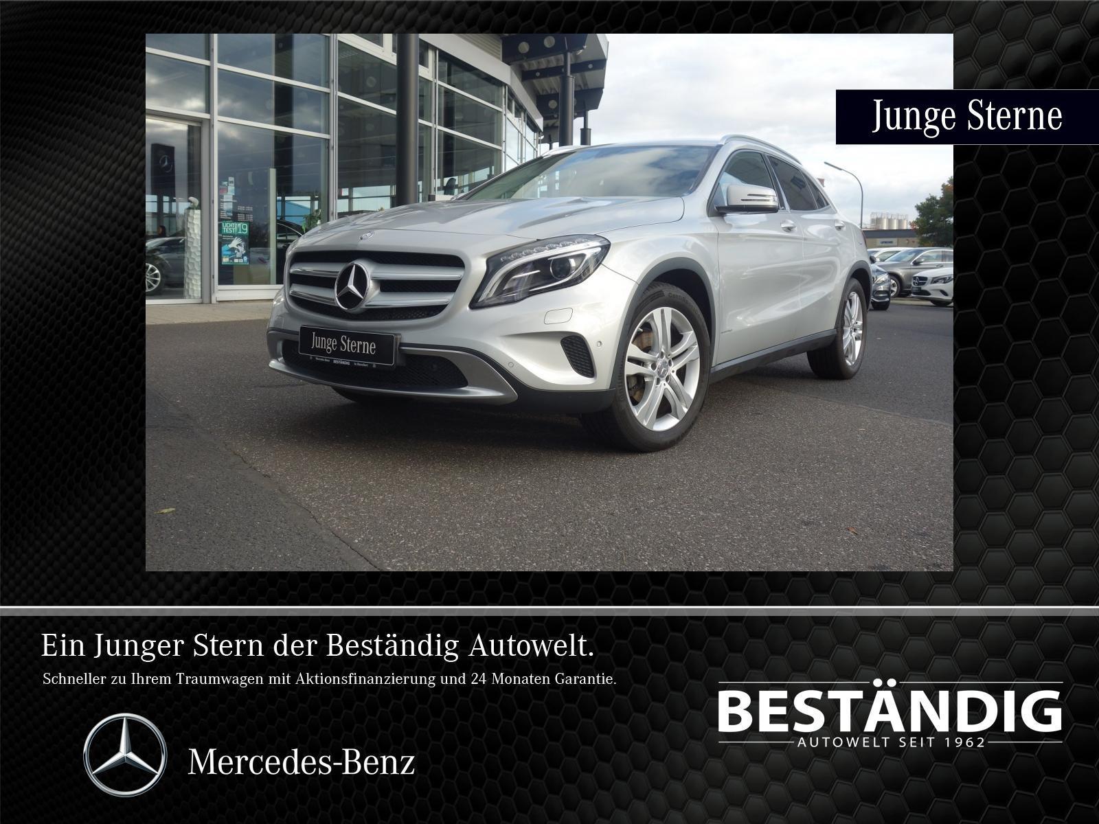 Mercedes-Benz GLA 200#Urban#Bi-Xenon#akt.Parkassistent#SHZ#AHK, Jahr 2015, petrol