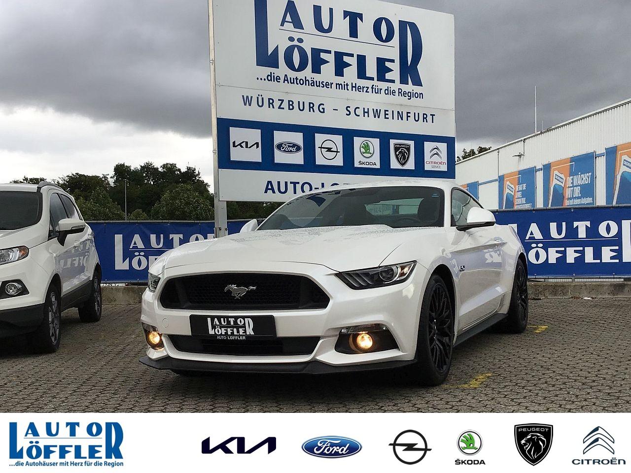 Ford Mustang GT 5.0 l - Navi RFK Klima SHZ Automatik, Jahr 2016, Benzin