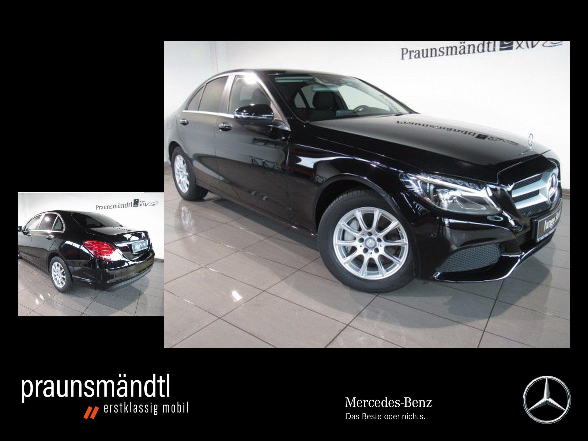 Mercedes-Benz C 250 7-ATG/NAVI/PTS/Tot/Head-up/LED/LMR/360°/CD, Jahr 2016, Benzin