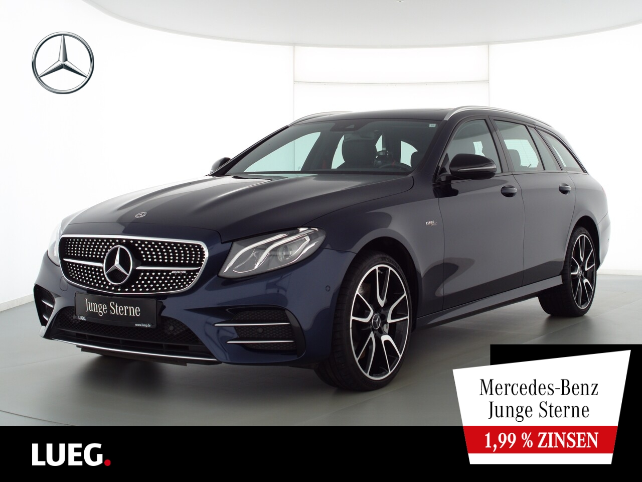 Mercedes-Benz E 53 AMG T 4M COM+SHD+LED-HP+RIDE+20''+Widesc+RF, Jahr 2018, Benzin