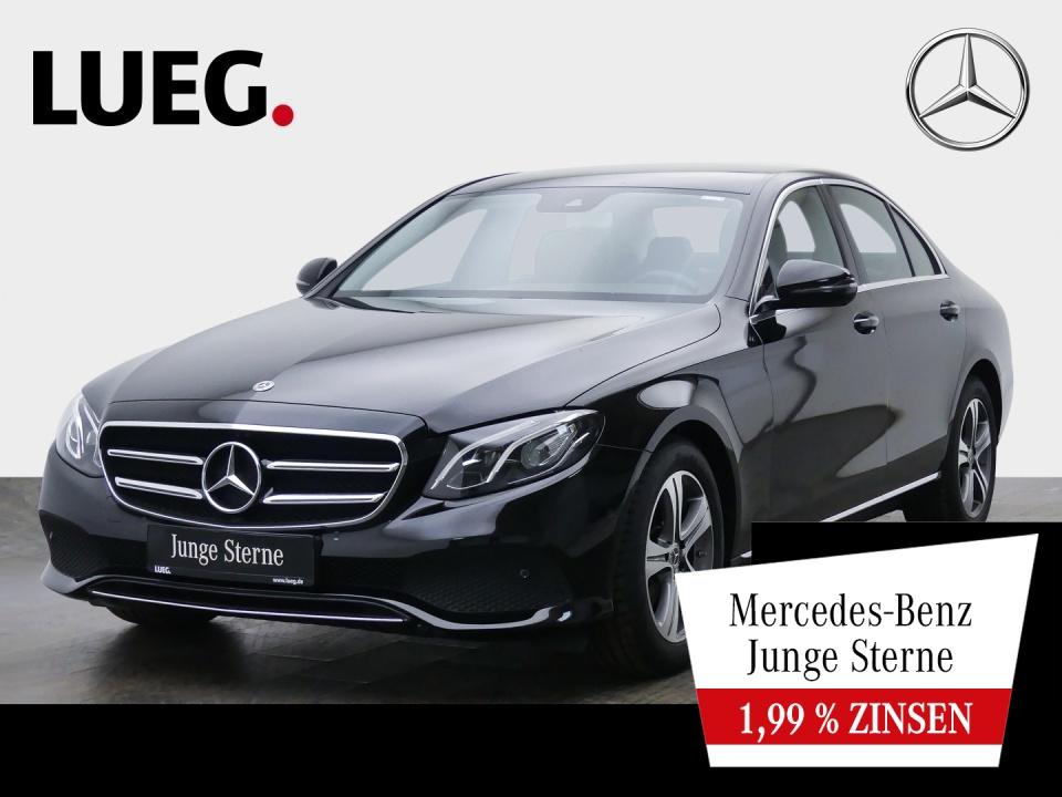 Mercedes-Benz E 200 d Avantgarde+Navi+LED-HP+Wide+SpurP+Kamera, Jahr 2019, Diesel