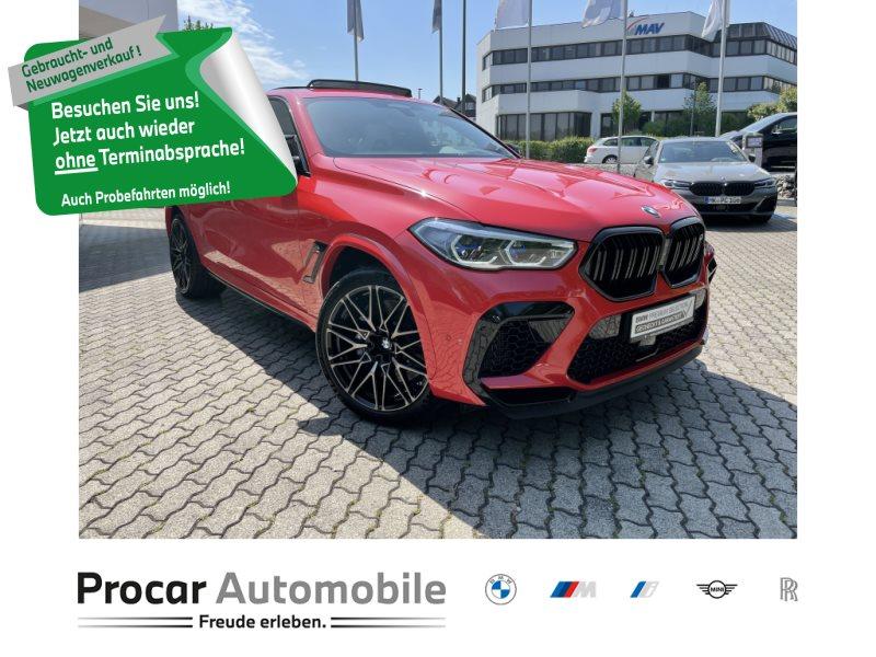 BMW X6 M Competition+Live Cockpit+Head-Up+Laserlicht, Jahr 2020, Benzin