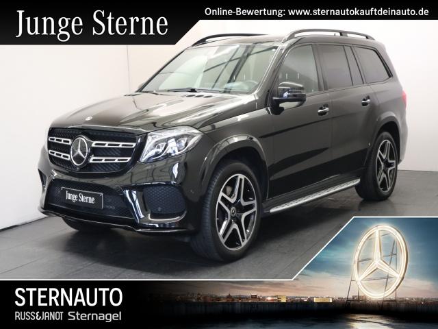Mercedes-Benz GLS 400 4M AMG Line TV Standh Distr Totw Spur Fond, Jahr 2018, petrol