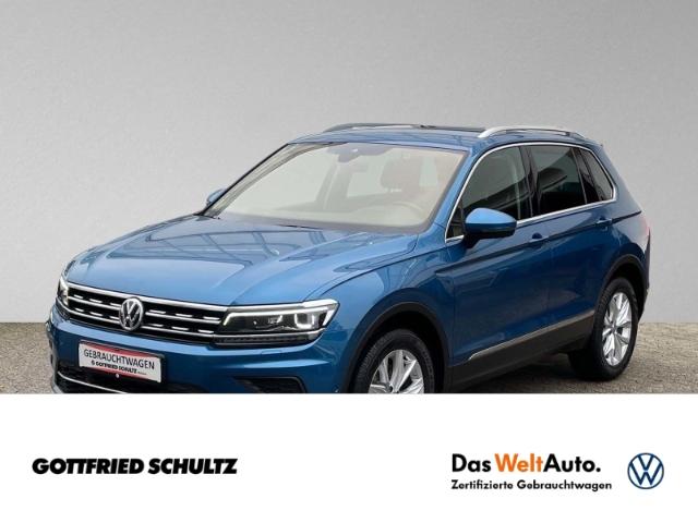 Volkswagen Tiguan 2.0 TSI 4Motion DSG LED NAVI AHK LEDER Highline, Jahr 2017, Benzin