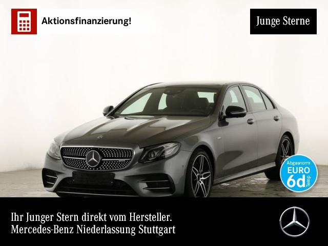 Mercedes-Benz E 53 AMG 4M Perf-Lenk Fahrass WideScreen 360°, Jahr 2019, petrol