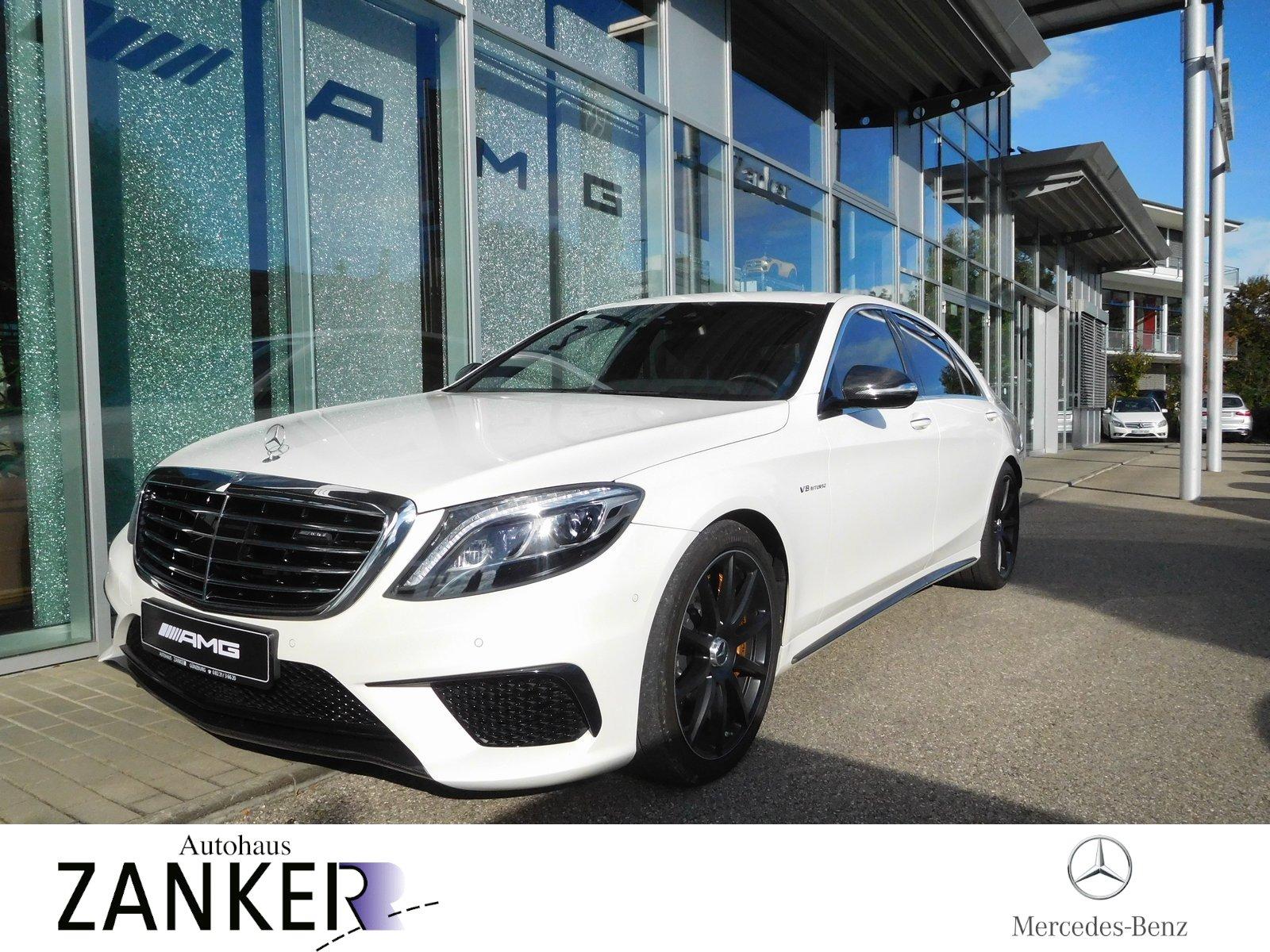Mercedes-Benz S 63 4M L *CARBON-Package*Keramik*AMG-NIGHT*VMAX, Jahr 2015, Benzin