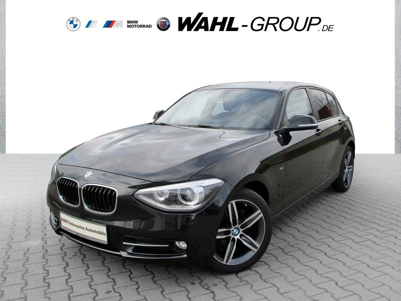 BMW 118d 5-Türer Sport Line Xenon Navi Bus. Klimaaut. Shz, Jahr 2015, Diesel