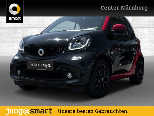 smart fortwo coupé 66kW passion BRABUS DCT cool&Media, Jahr 2018, Benzin