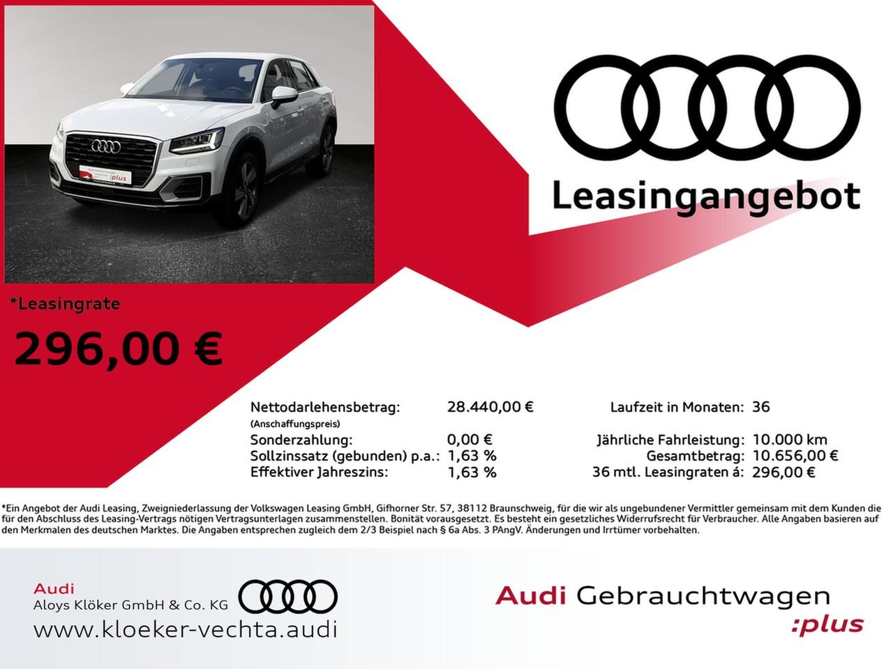 Audi Q2 finanzieren