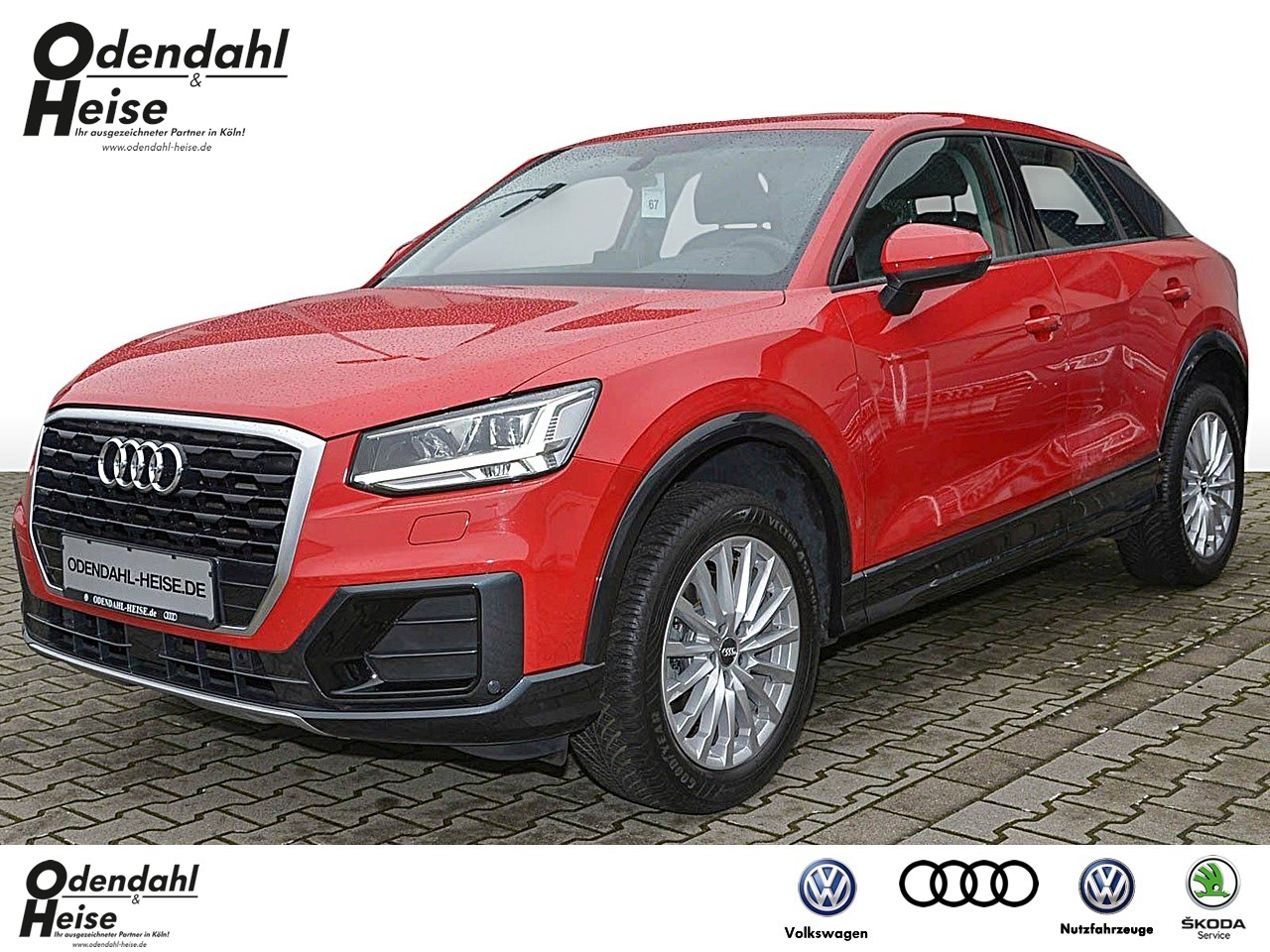 Audi Q2 design 1.4 TFSI cylinder on demand S tronic, Jahr 2017, Benzin