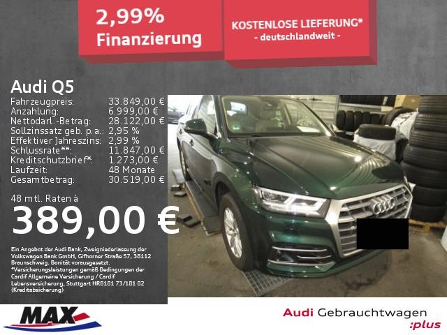 Audi Q5 2.0 TDI S LINE LED+ACC+MMI NAVI+KAMERA+, Jahr 2018, Diesel