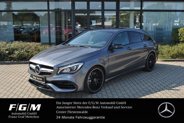 Mercedes-Benz CLA 45 AMG SB COM/Distr/PanoD/Night/Mem/R-Kamera, Jahr 2017, Benzin