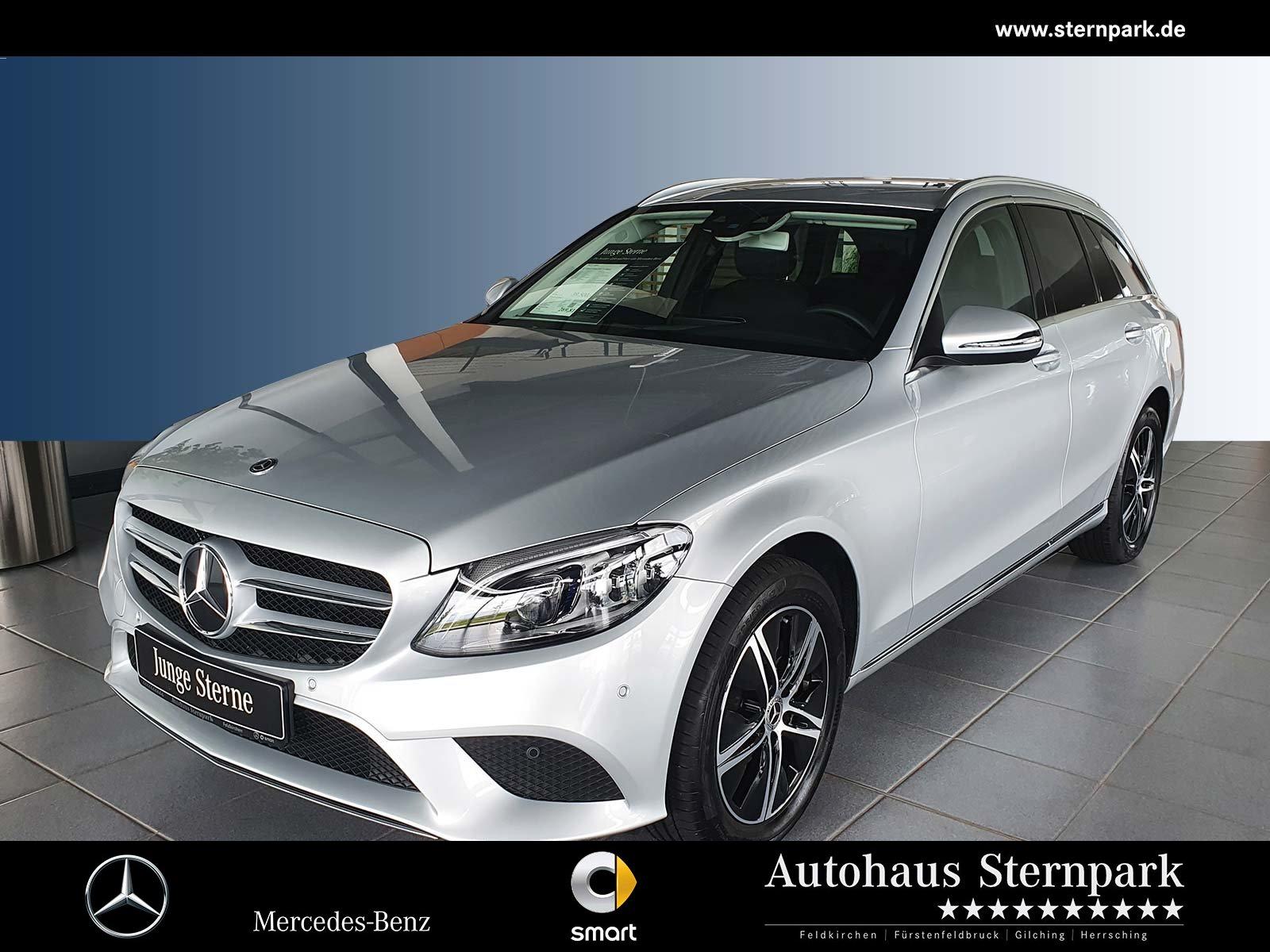 Mercedes-Benz C 220 d 4M T Avantgarde Comand+AHK+Memory+Standh, Jahr 2020, Diesel