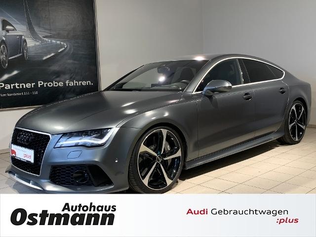 Audi RS7 Sportback 4.0 TFSI quattro LED*NAVI*KLIMA, Jahr 2014, petrol