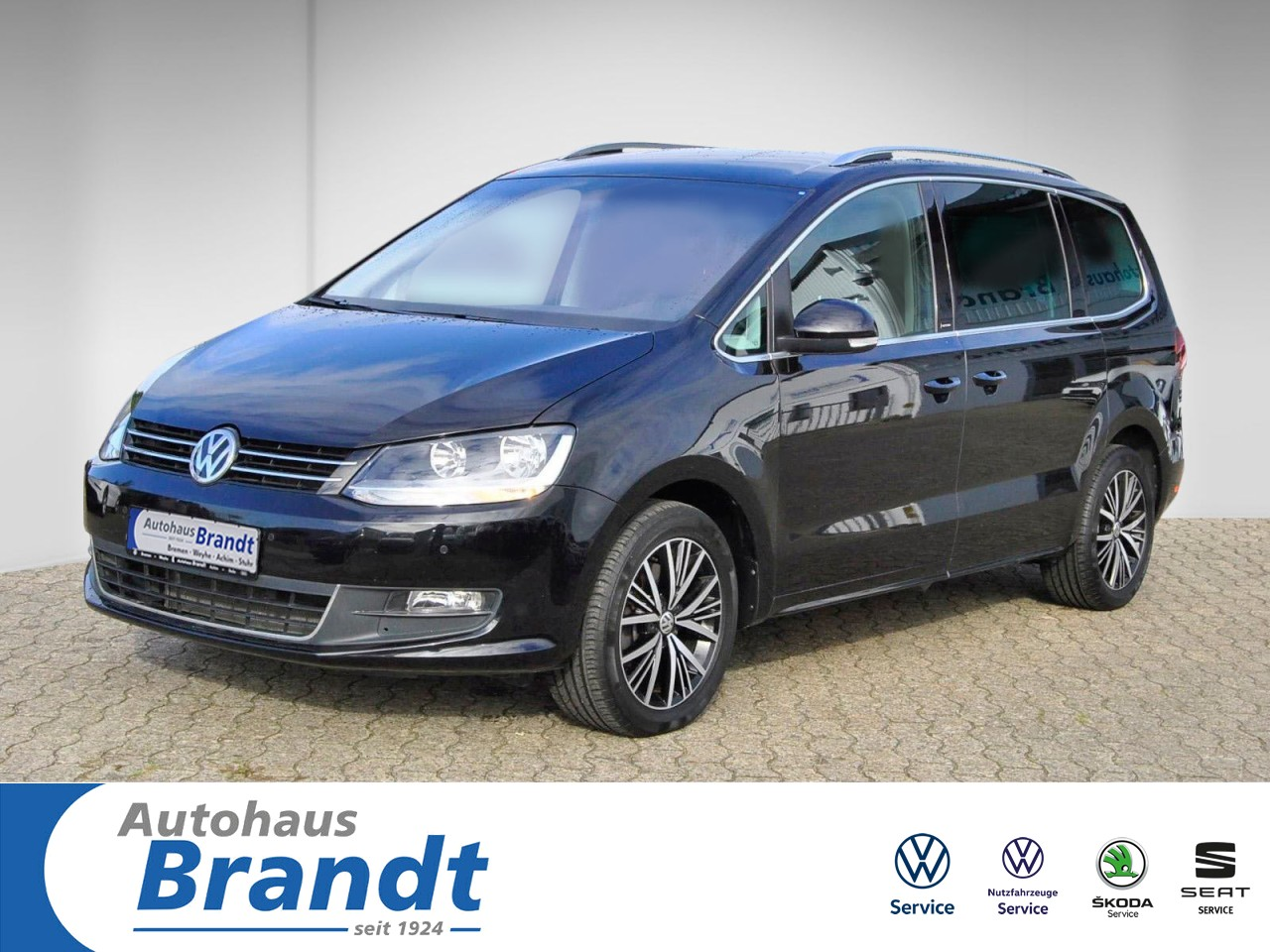 Volkswagen Sharan 2.0 TDI Allstar NAVI*ACC*4M Navi, Jahr 2016, Diesel