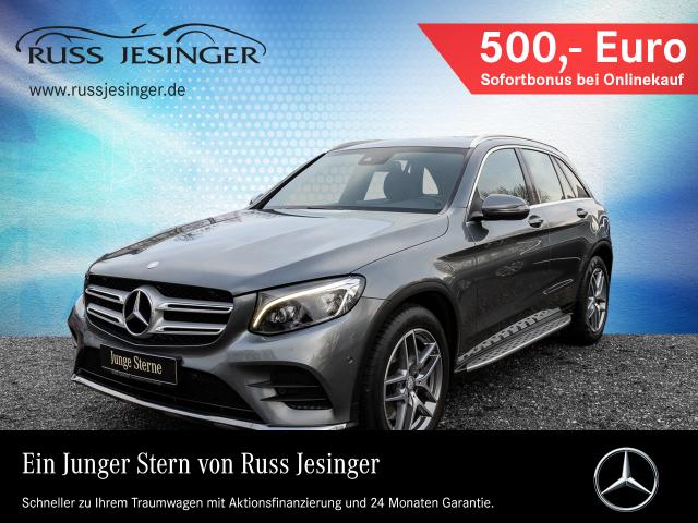 Mercedes-Benz GLC 250 d 4M AMG Line + NAVI + AHK + LED + ILS, Jahr 2016, Diesel