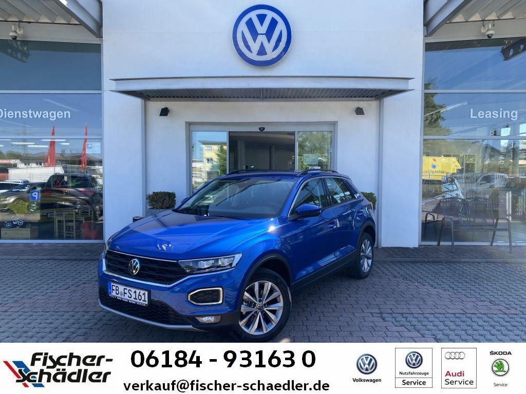 Volkswagen T-ROC Style 1.5TSI*DSG*AHK*LED*AppConnect*SpurAs, Jahr 2021, Benzin