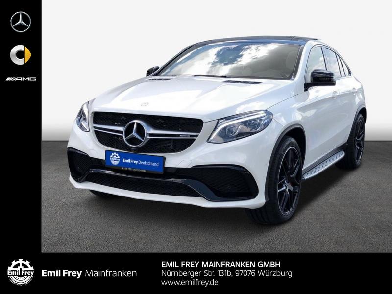 Mercedes-Benz GLE 63 AMG Coupè Standh. Panodach Distro 22'', Jahr 2016, Benzin