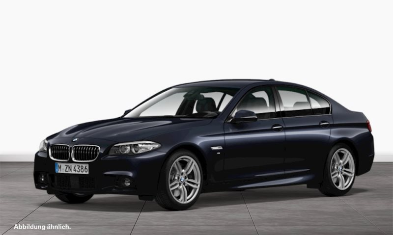 BMW 550i 1.Hd.*Scheckheft*M-Sportpaket*Nav.Prof., Jahr 2016, petrol