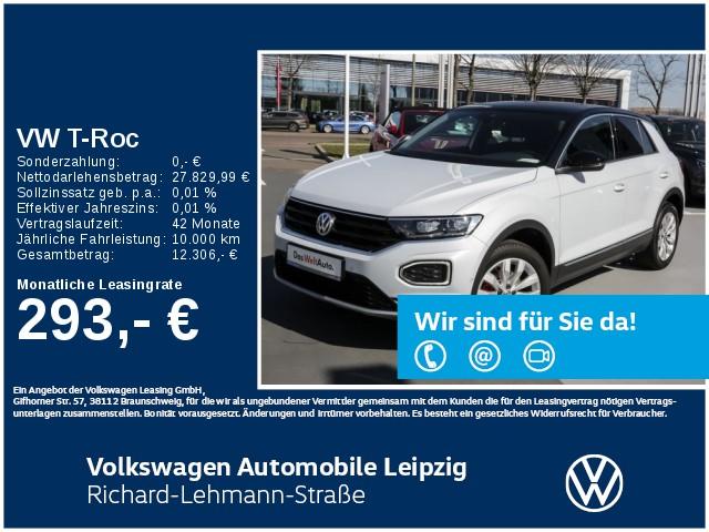 Volkswagen T-Roc Sport 1.5 TSI OPF *Navi*AHK*LED*, Jahr 2020, Benzin