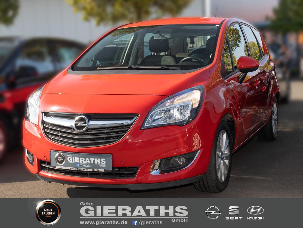 Opel Meriva 1.4 Style Klima AHK PDC SHZ, Jahr 2015, Benzin