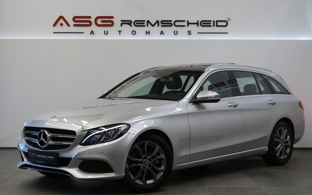 Mercedes-Benz C 220 d T 9G-Tr. *Pano *AHK *Comand *LED ILS *, Jahr 2017, Diesel