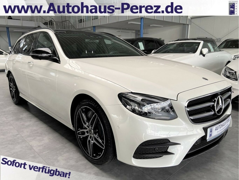 Mercedes-Benz E 450 T 4M AMG HUD-WIDESCREEN-BURMESTER-KEYLESS, Jahr 2019, Benzin