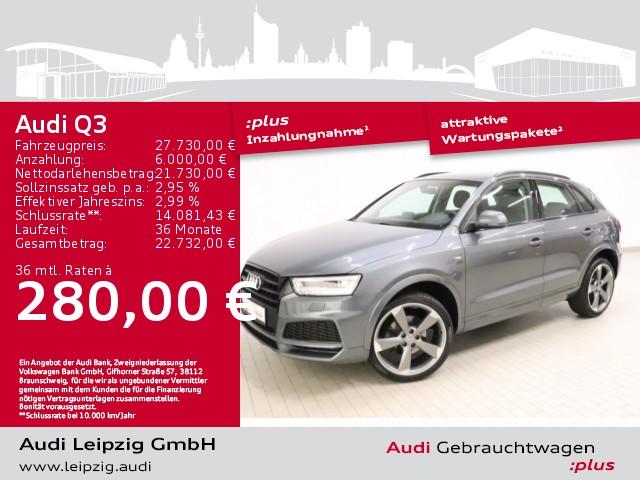 Audi Q3 2.0 TDI quattro *S line*LED-Paket*20Zoll*, Jahr 2018, Diesel