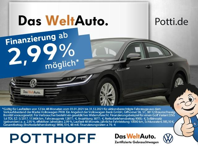 Volkswagen Arteon 2.0 TDI BMT Telefon LED Tempomat PDC Klima, Jahr 2019, Diesel