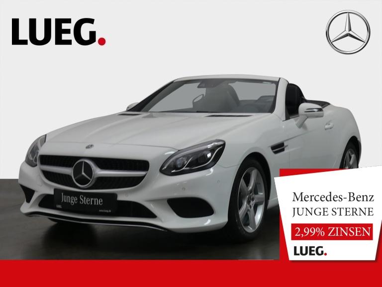 Mercedes-Benz SLC 180 Navi+Pano+LED+Distr+SpurP+AIRSC+Kamera++, Jahr 2019, Benzin