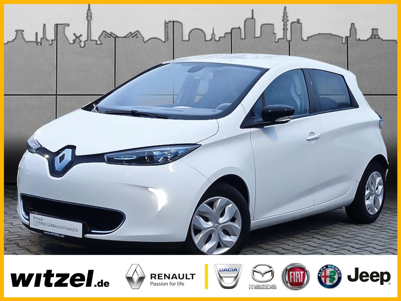 Renault ZOE zzgl. Batteriemiete NAVI KLIMA MFL BT, Jahr 2013, Elektro