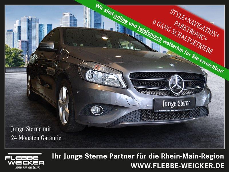 Mercedes-Benz A 180 CDI STYLE+NAVI+KLIMA+PARKTRONIC+6G.-SCHALT, Jahr 2015, Diesel