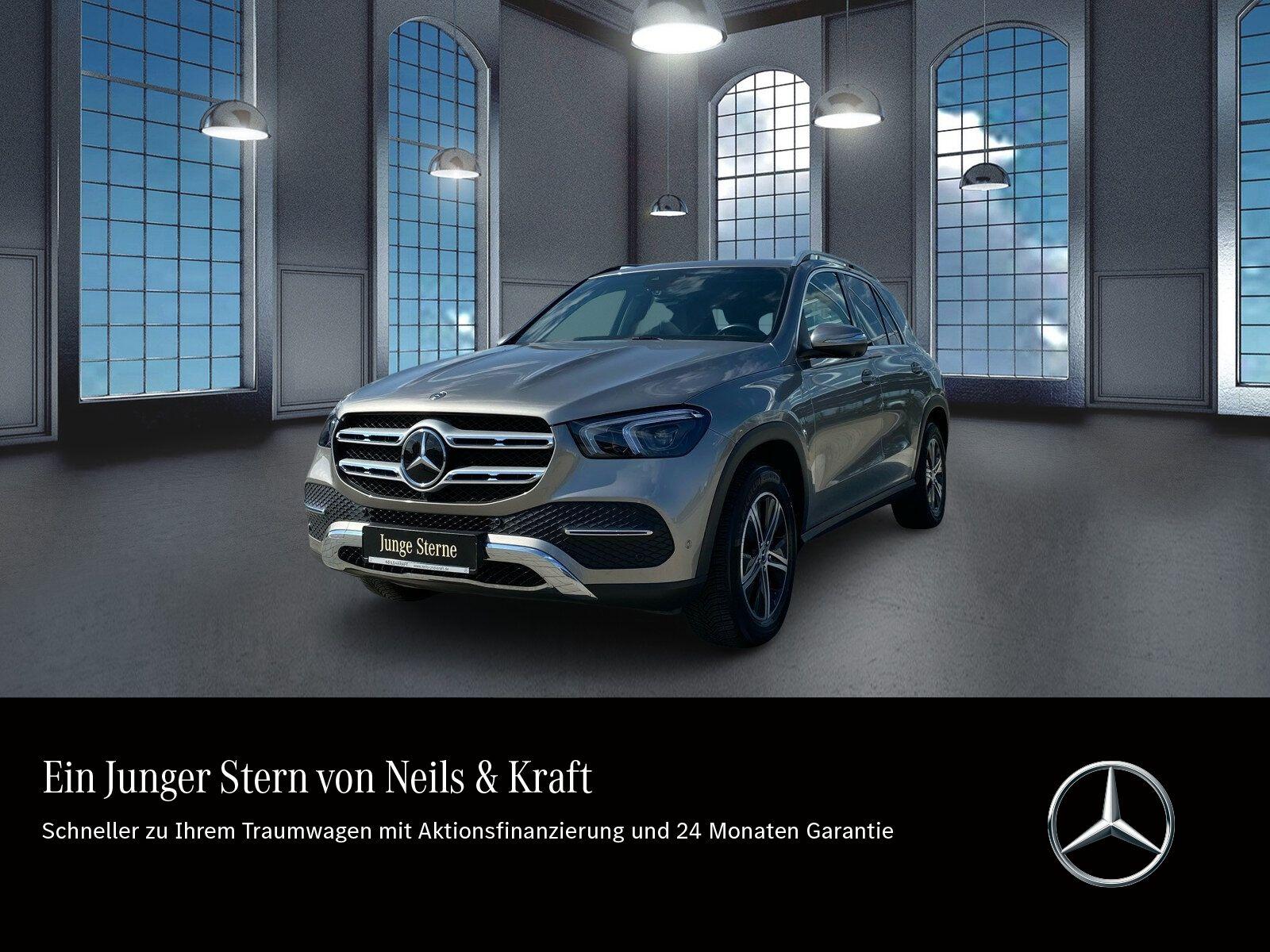Mercedes-Benz GLE 300d AHK+FAHRASS+AMBI+CARPLAY+BURMEST.+360°+, Jahr 2020, Diesel