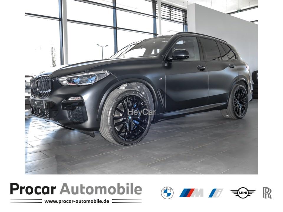 BMW X5 xDrive40d FROZEN Black AHK Standheizung H/K, Jahr 2021, Diesel