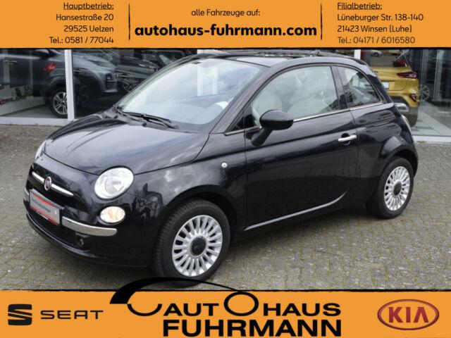 "Fiat 500 Lim. Lounge 1.2 8V *PANO/EINPARKH./15""LM*, Jahr 2013, petrol"