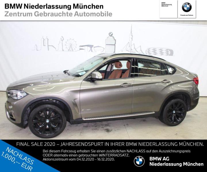 BMW X6 xDrive35i RFK AHK Navi Prof. RTTI D.Assist+, Jahr 2017, Benzin