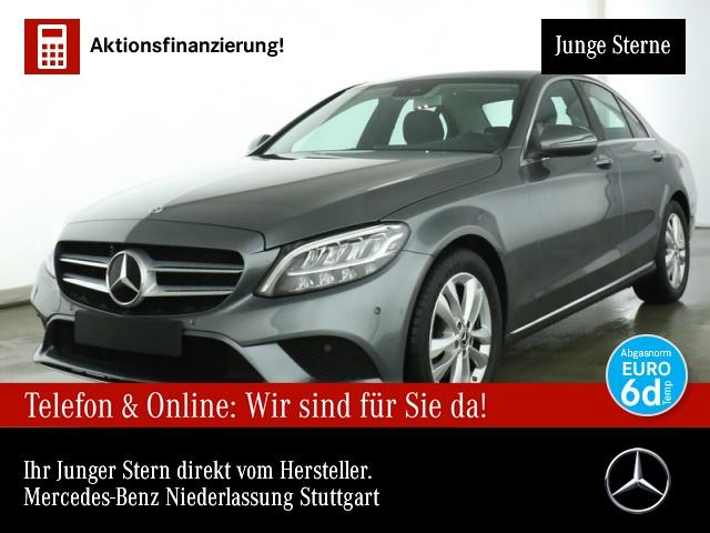 Mercedes-Benz C 200 d Avantgarde LED Kamera Spurhalt-Ass SpurPak, Jahr 2019, Diesel
