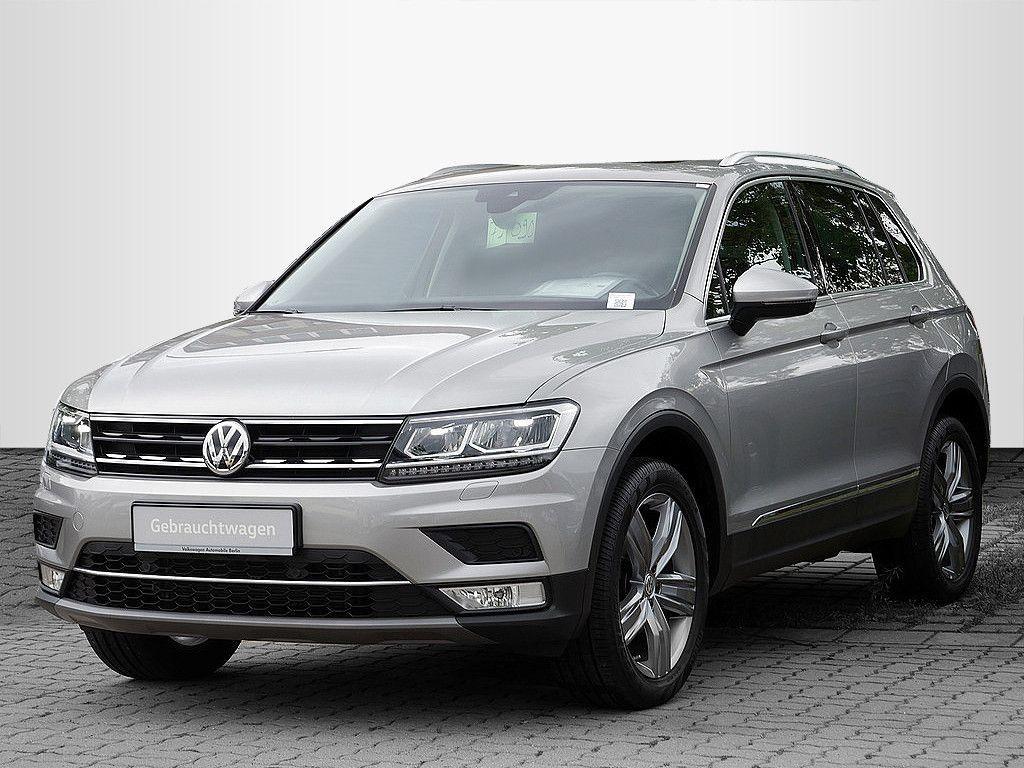 Volkswagen Tiguan 2.0TDI DSG Highline 4x4 P-DACH AHK LED, Jahr 2016, Diesel