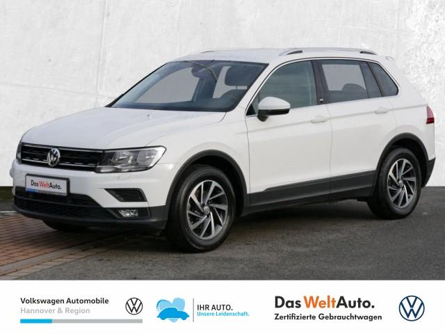Volkswagen Tiguan 1.4 TSI Sound Navi PDC Sitzhzg ACC Klima, Jahr 2017, Benzin