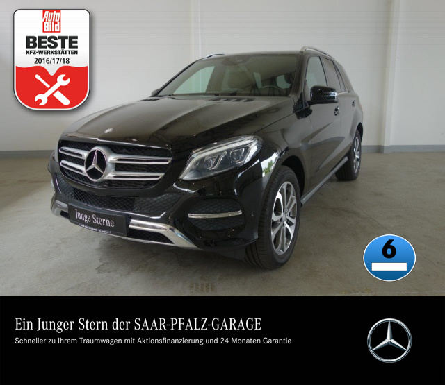 Mercedes-Benz GLE 250 d 4M 9G.TRONIC*NAVI*LED*PTS*SITZHZG*1.HD, Jahr 2016, Diesel