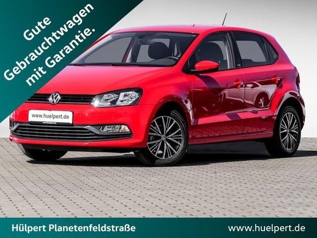 Volkswagen Polo 1.2 Allstar GRA PDC SHZ ALU, Jahr 2017, Benzin