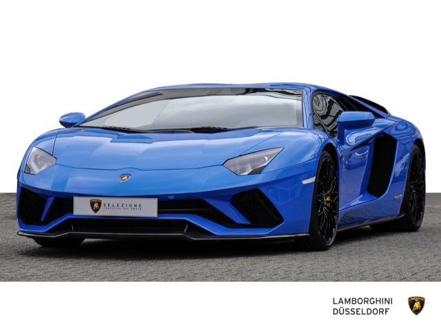 Lamborghini Aventador S Coupe Blu Nila Carbon Package, Jahr 2019, Benzin