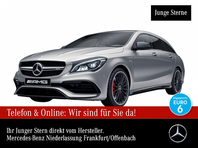 Mercedes-Benz CLA 45 4MATIC Shooting Brake Sportpaket Bluetooth, Jahr 2016, Benzin