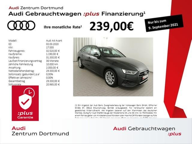 Audi A4 Avant 35TFSI ACC/Stadt/Tour/Kam, Jahr 2020, Benzin