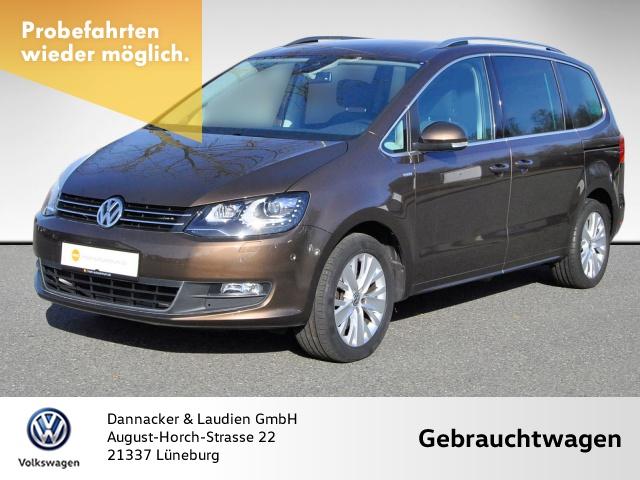Volkswagen Sharan 4Motion 2.0 TDI Life Alu Bi-Xenon Navi, Jahr 2013, Diesel