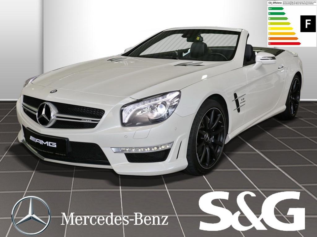 Mercedes-Benz SL 63 AMG AMG DriverS Package/Comand/Parkassis, Jahr 2014, petrol