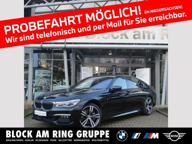 BMW 750d xDrive M Sport B&W EDP ACC GSD AHK, Jahr 2016, Diesel