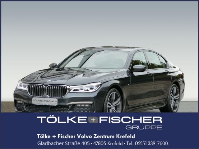 BMW 730 d xDrive Lim EU6+Laserlicht+M-Sportpaket+Massage+Elektr.*Schiebedach+360Grad*Kamera, Jahr 2017, Diesel