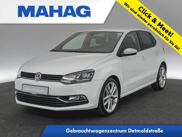 Volkswagen Polo 1.2 TSI Highline R line Int. Navi LED Kamera Sitzhz. ParkPilot 17Zoll DSG, Jahr 2017, Benzin